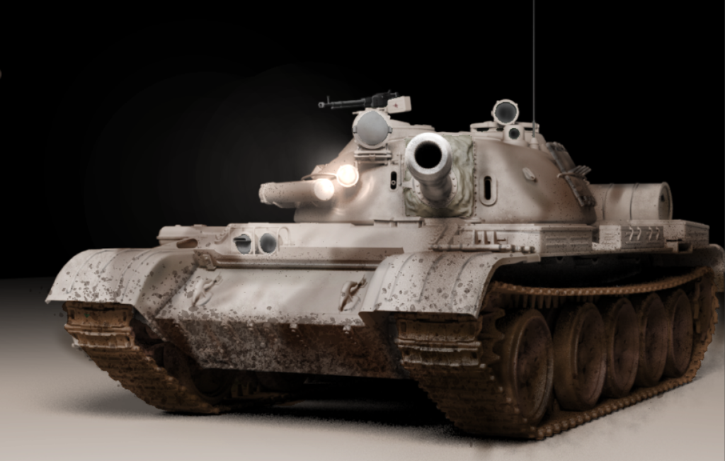T-55 モデリング