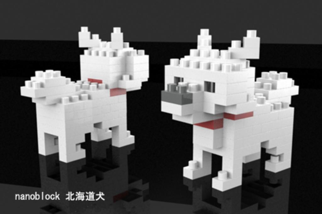nanoblock_北海道犬