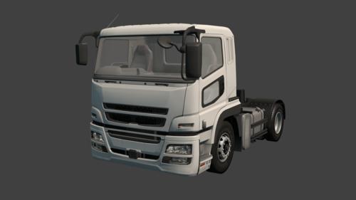 Medium large truck