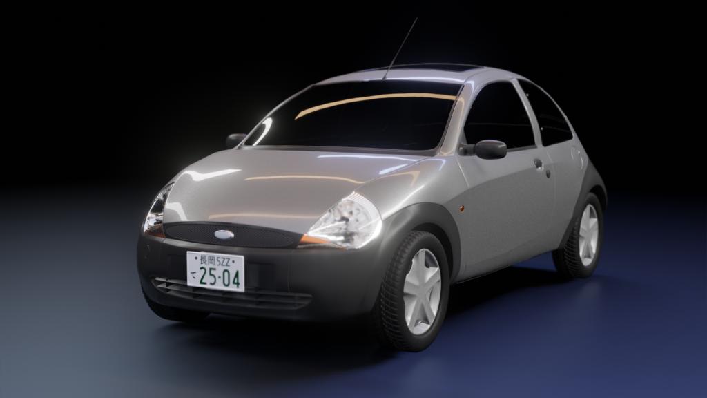 フォード・Ka(日本仕様)