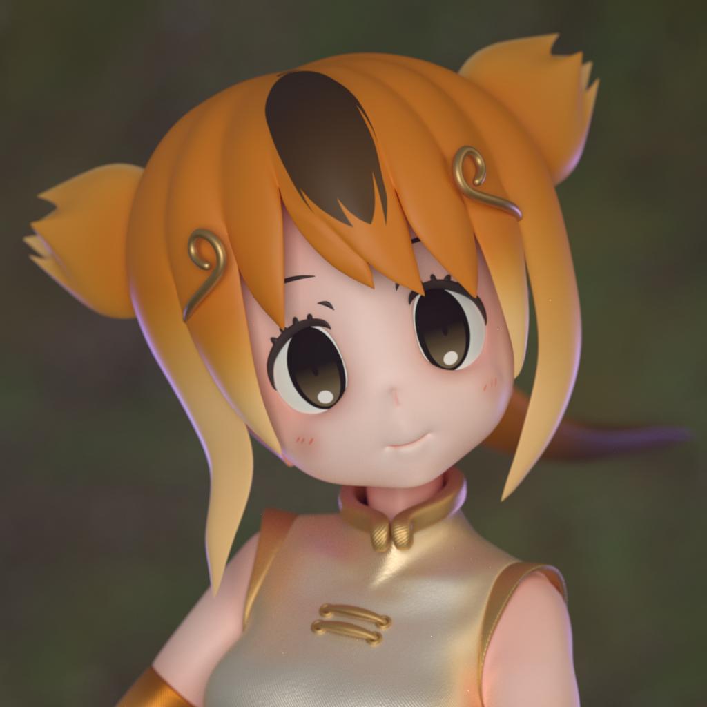 キンシコウちゃん(fan art)