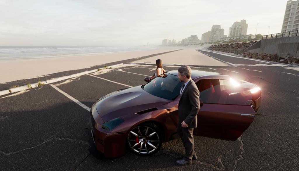 Unreal Engine Car Rendering 03