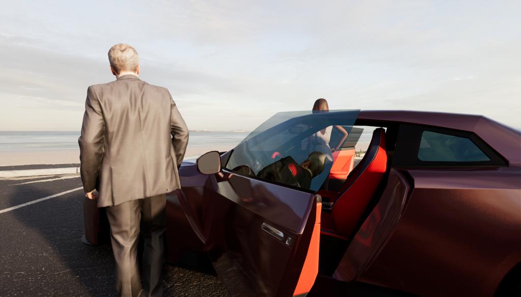 Unreal Engine Car Rendering 04