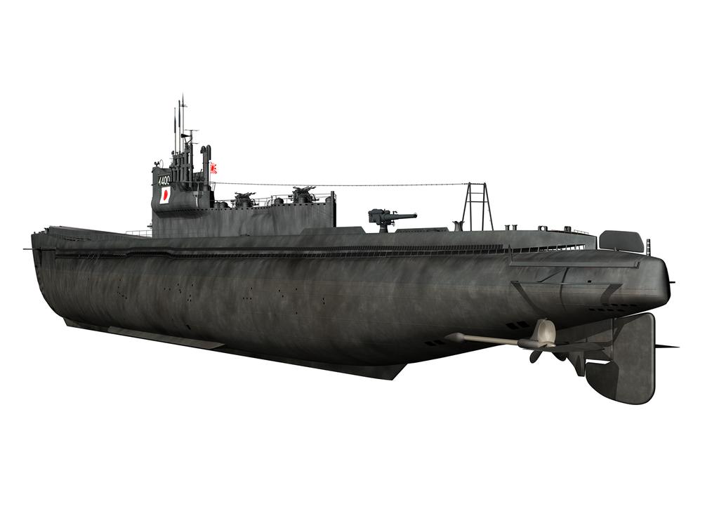 伊-400潜