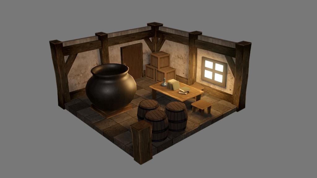 錬金窯部屋