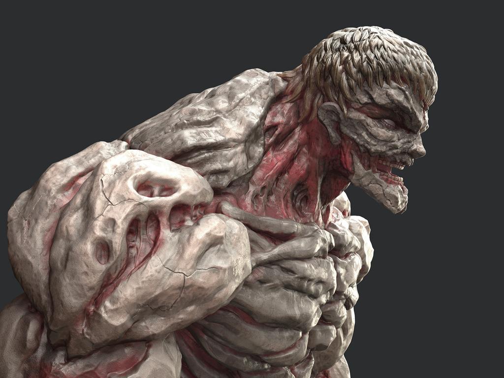 鎧の巨人2