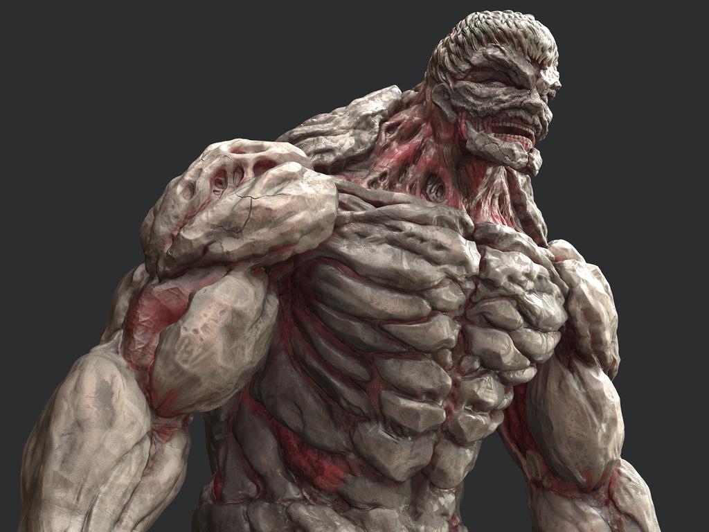 鎧の巨人3