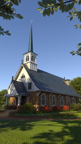 Medium large church