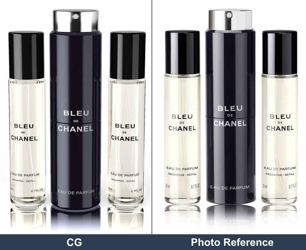 Perfume Bottle - Studio Lighting Study