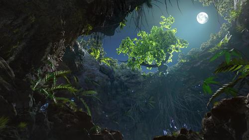 Medium large cave 01