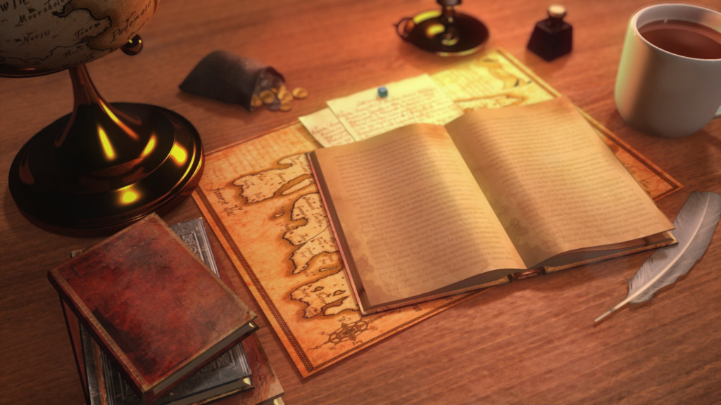 Fantasy desk