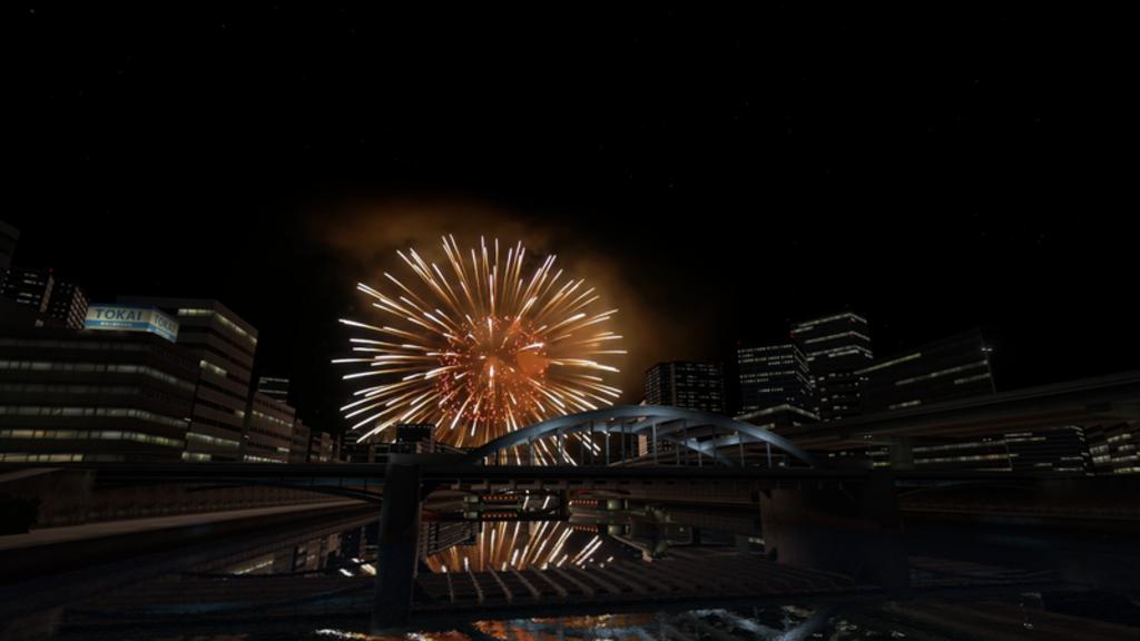 HANABI ~Fireworks river