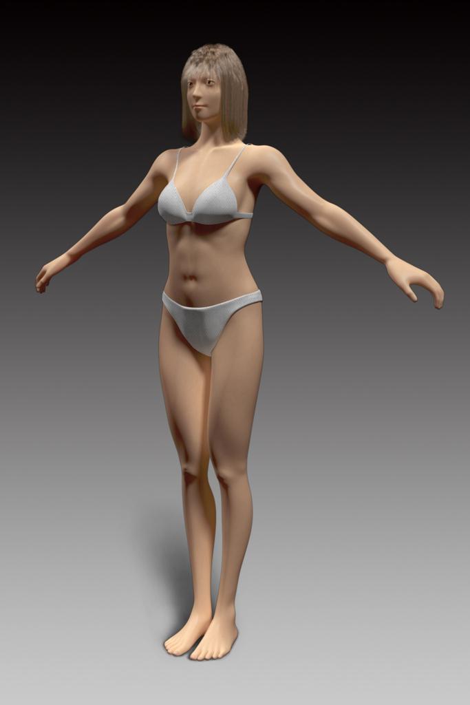 3DCGキャラクターモデリング_2