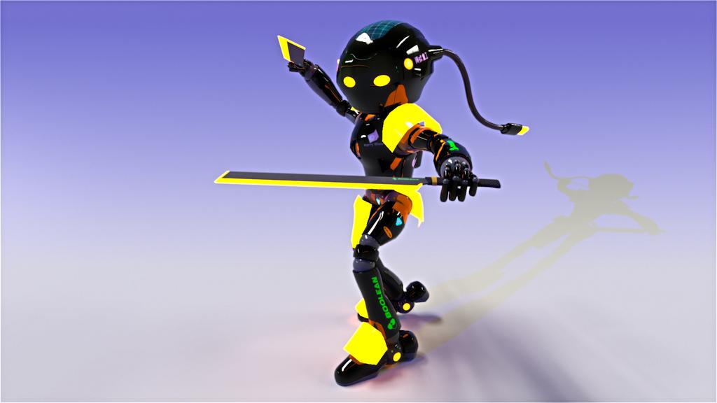 RoboWarriorB
