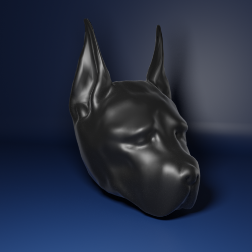 Medium large dog sculpt1