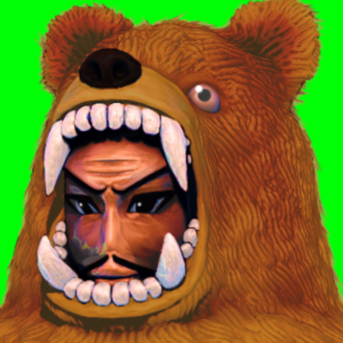 Medium large ganmin kuma icon